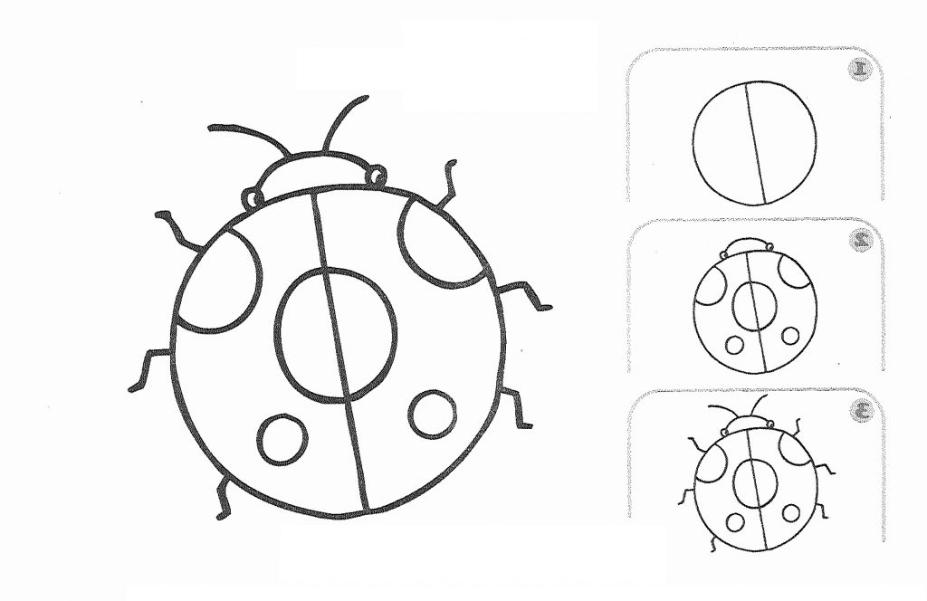 1024x664 Simple Drawing For Kids Step By Step