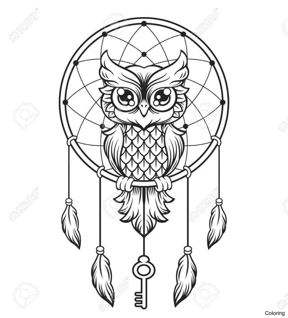 927x1024 Dream Catcher Drawings Indian Drawing Of Dreamcatchers Coloring