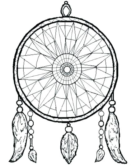 421x533 Inspirational Dream Catcher Coloring Pages And Dream Catcher