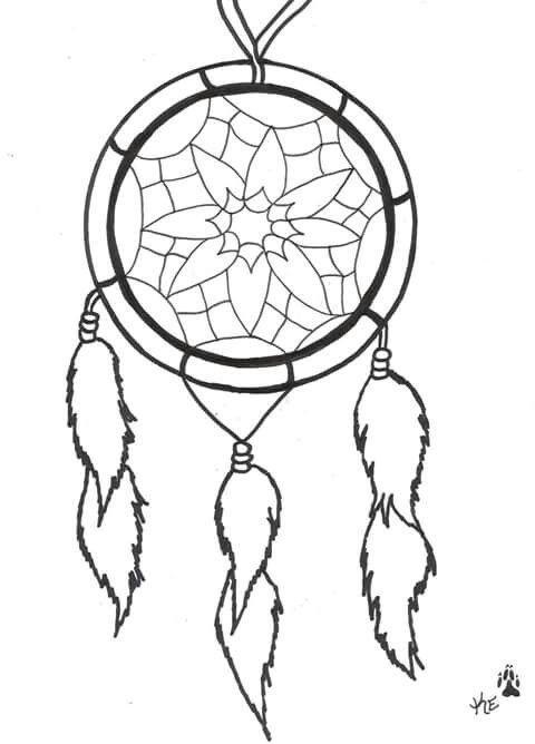 480x668 Pin By Rebeccah On Coloring Pages Dream Catchers