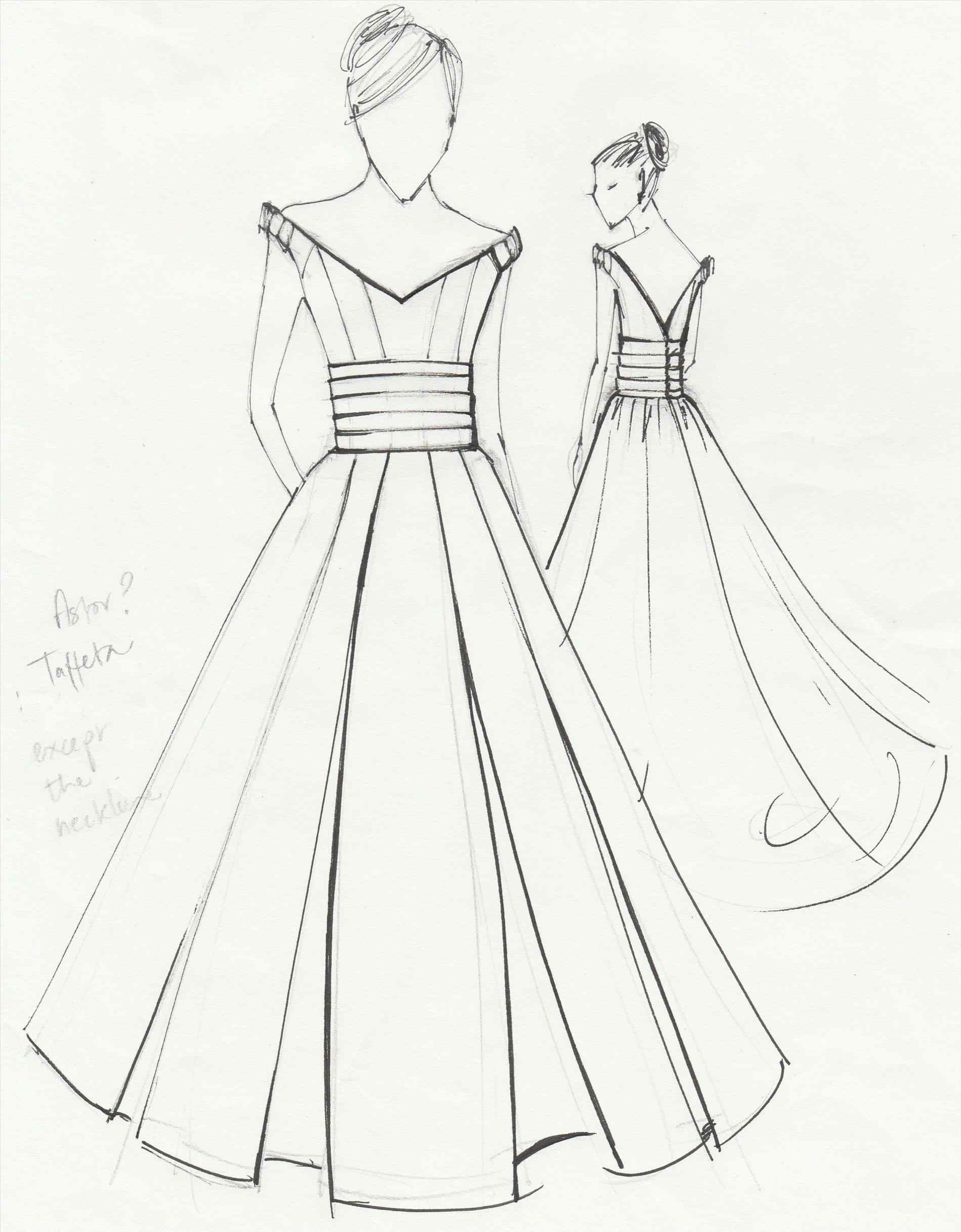 Simple Dress Drawing At GetDrawings.com | Free For Personal Use Simple Dress Drawing Of Your Choice