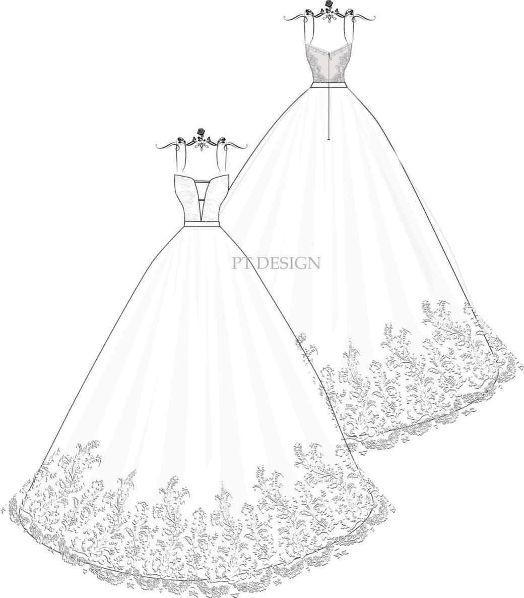 Simple Dress Drawing at GetDrawings.com   Free for personal use ...