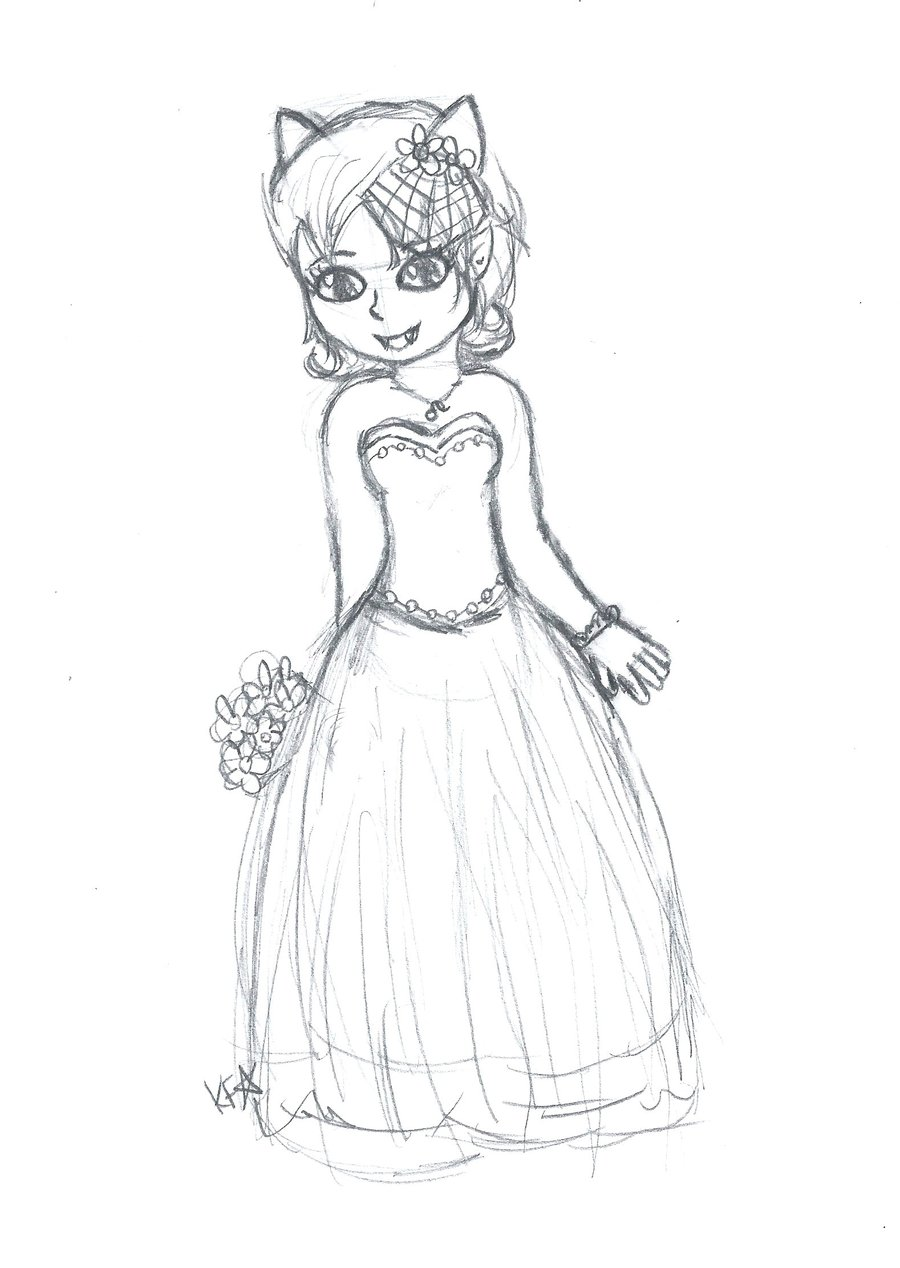 Simple Dress Drawing at GetDrawings.com