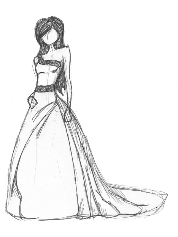 600x797 dress sketch by hungrypipe on deviantart