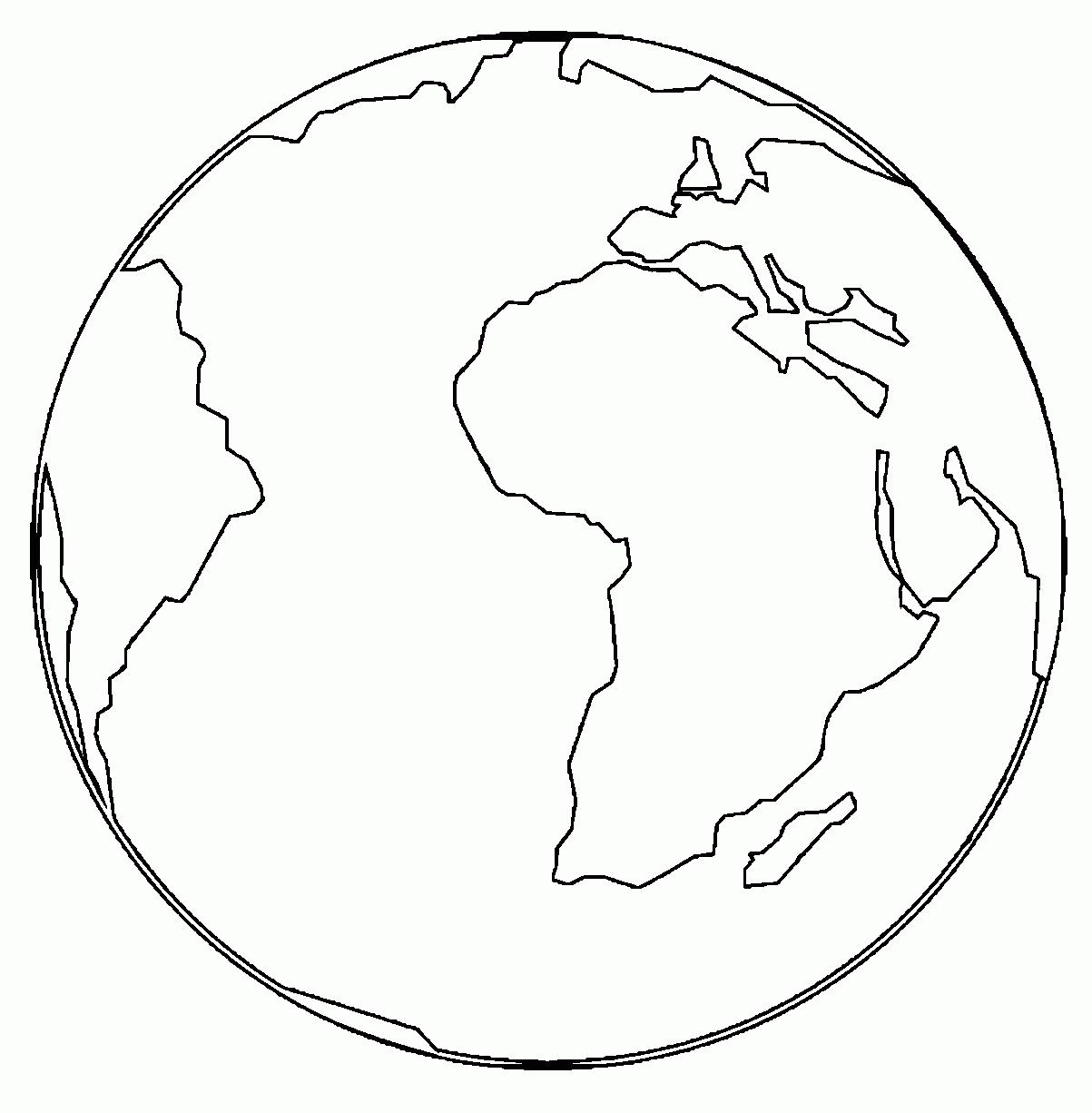 1203x1226 Simple Earth Coloring Pages Simple Colorings