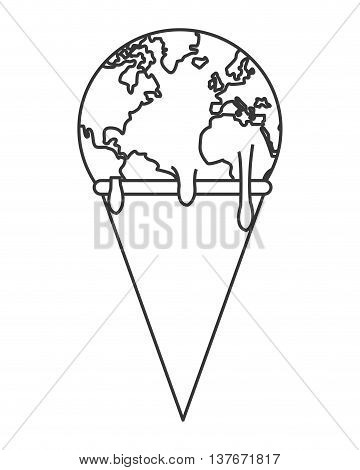 360x470 Simple Flat Design Planet Earth Vector Amp Photo Bigstock