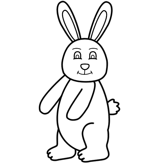 575x575 Easter Bunny