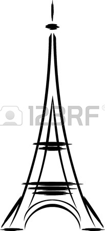 205x450 Eiffel Tower Isolated Stock Photos. Royalty Free Eiffel Tower