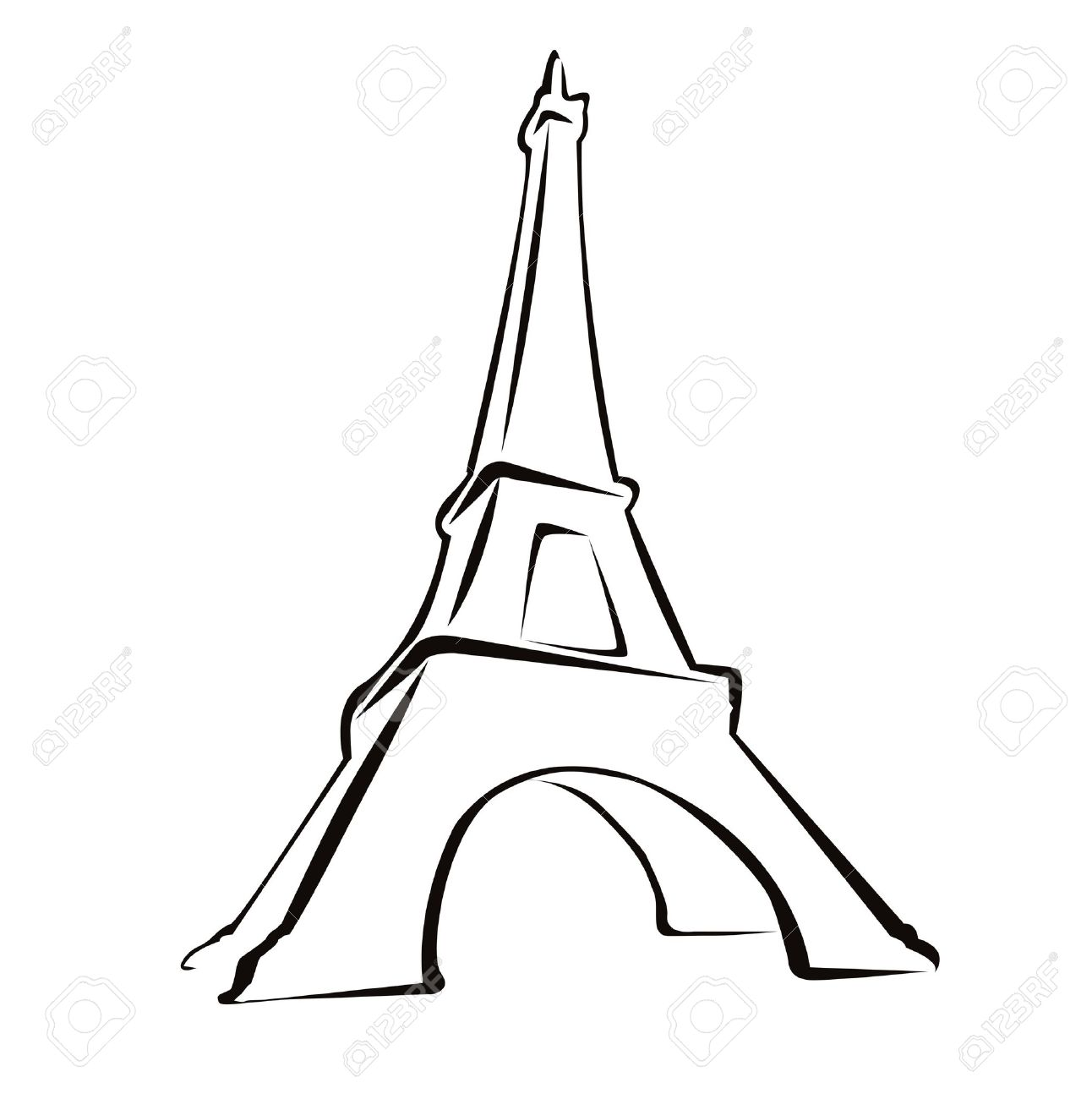 1292x1300 Isolated Eiffel Tower Clipart, Explore Pictures