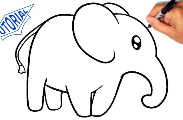 640x420 Tag For Elephant Easy Drawing The Long Distance Relationship