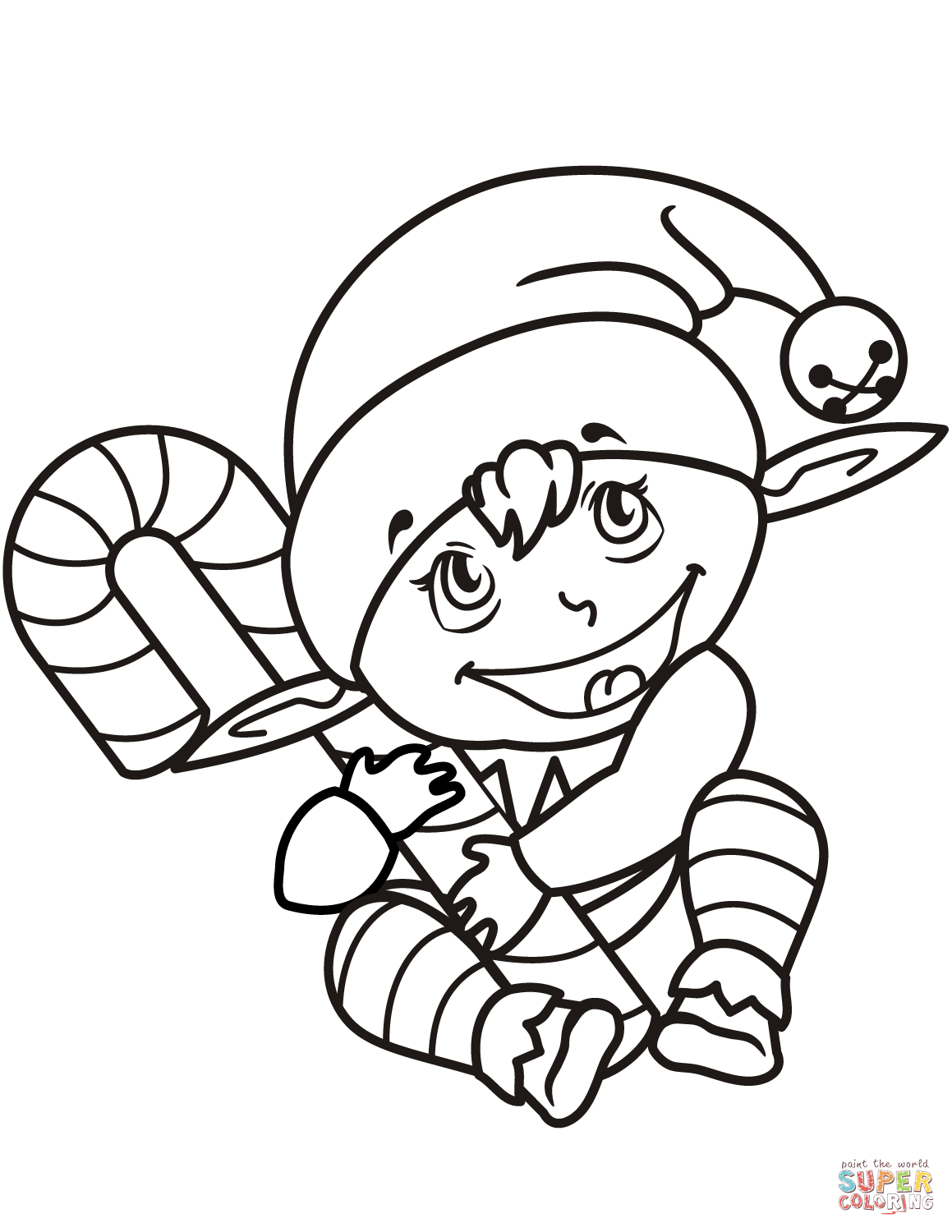 Simple Elf Drawing at GetDrawings | Free download