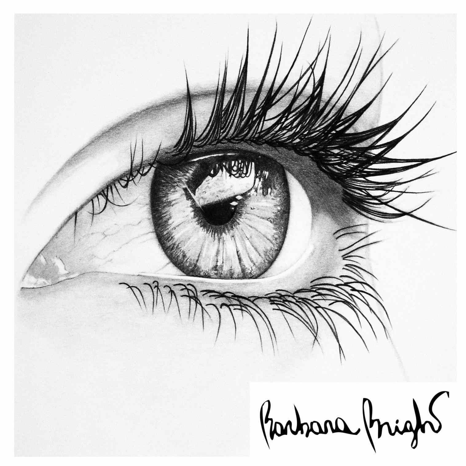 Simple Eyes Drawing At Getdrawings Com Free For Personal Use