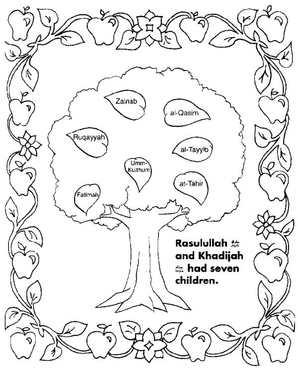 600x749 Family Tree Coloring Family Tree Coloring Pages Family Tree