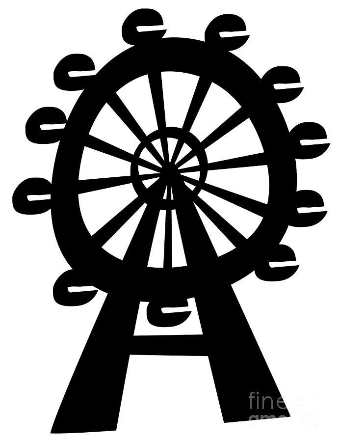 691x900 Ferris Wheel