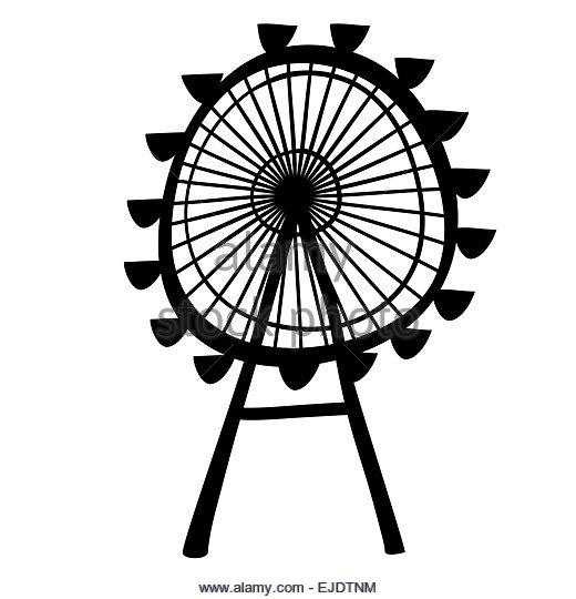 520x540 Ferris Wheel Cut Out Stock Images Amp Pictures