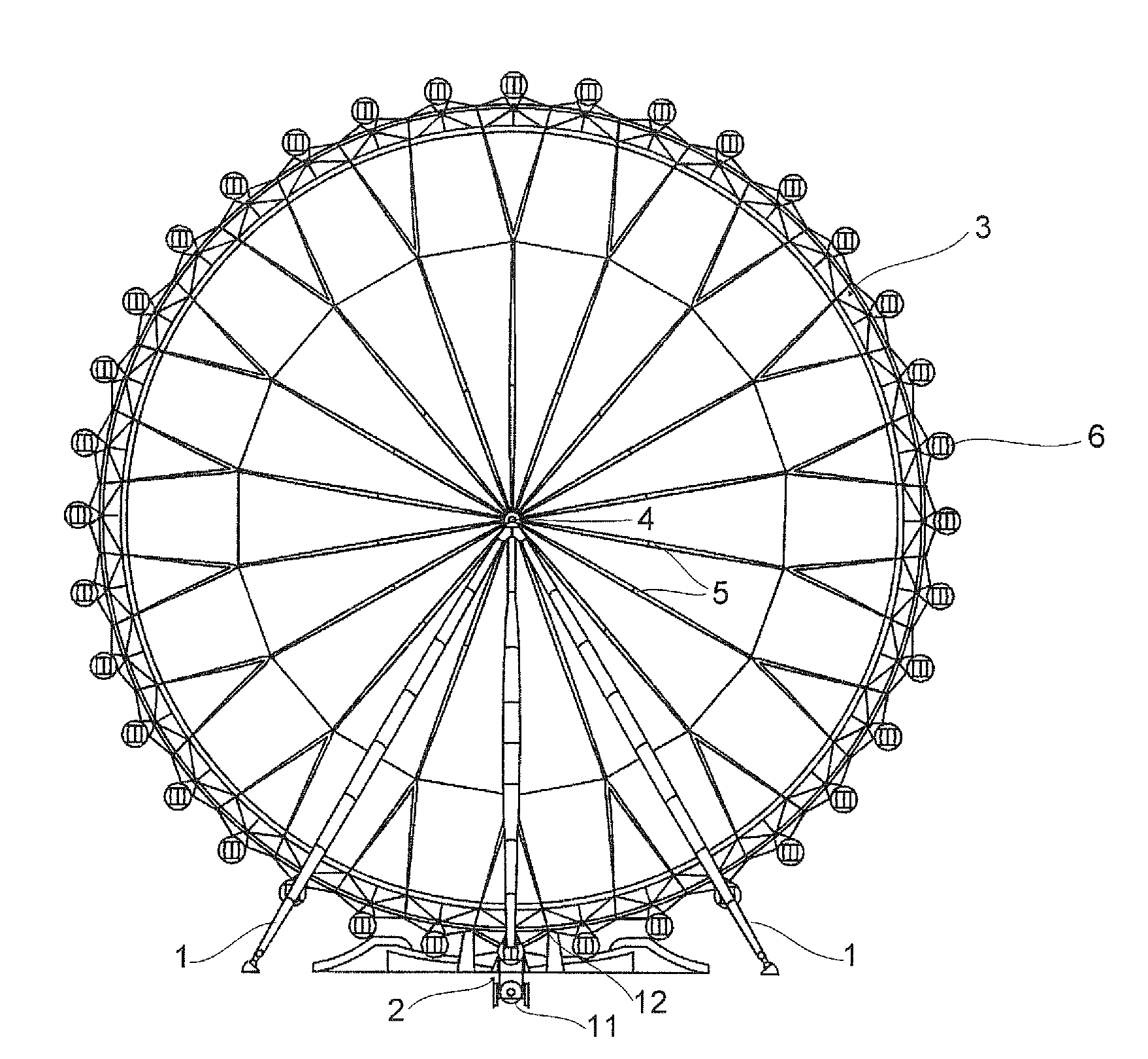 1757x1620 Ferris Wheel Png