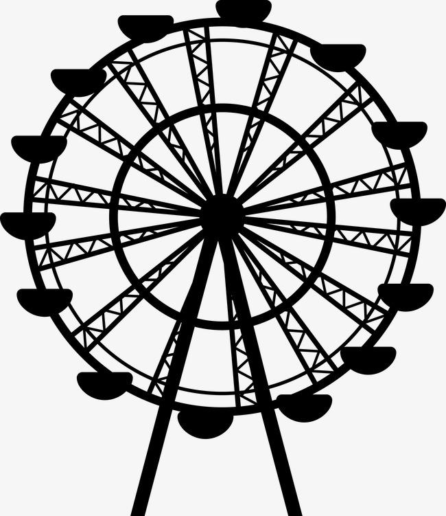 Simple Ferris Wheel Drawing At Getdrawings Com Free For