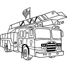 236x236 Carton Fire Truck Coloring Pages Coloring Pages