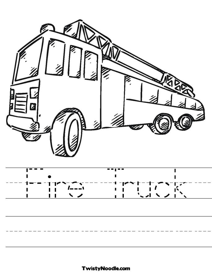 Simple Fire Truck Drawing at GetDrawings.com | Free for personal use ...