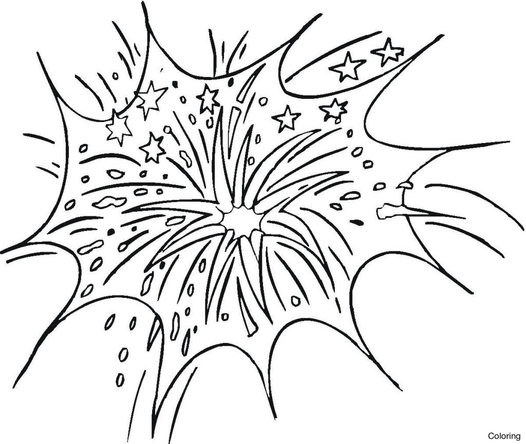 Simple Firework Drawing at GetDrawings.com | Free for personal use ...