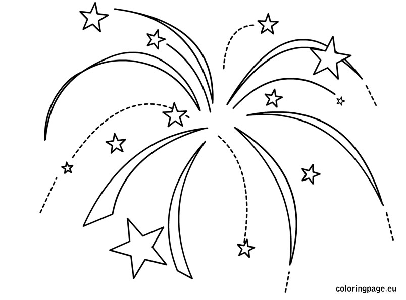 Simple Firework Drawing at GetDrawings.com | Free for ...