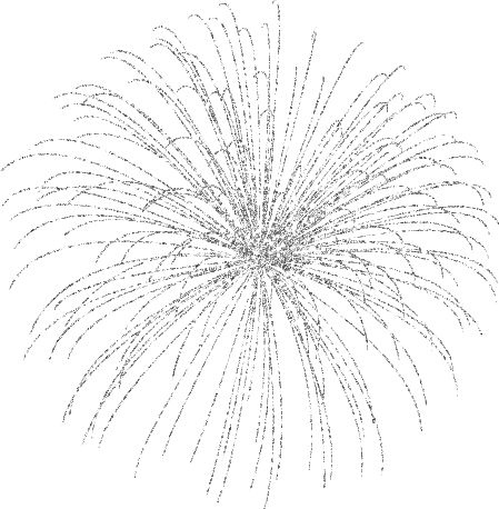 how to draw realistic fireworks