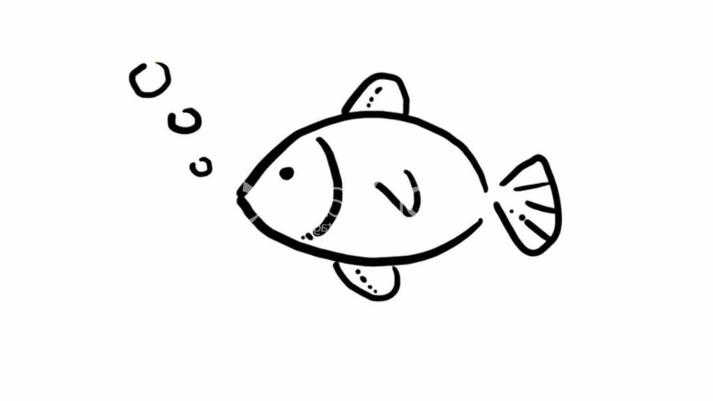 1024x576 fish easy to draw easy drawing of fish how to draw fish step step