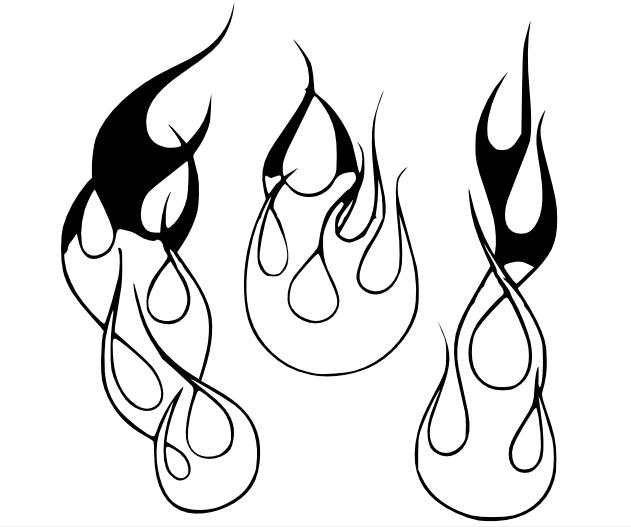 631x527 Flame Designs In Cad. What Is Easiest
