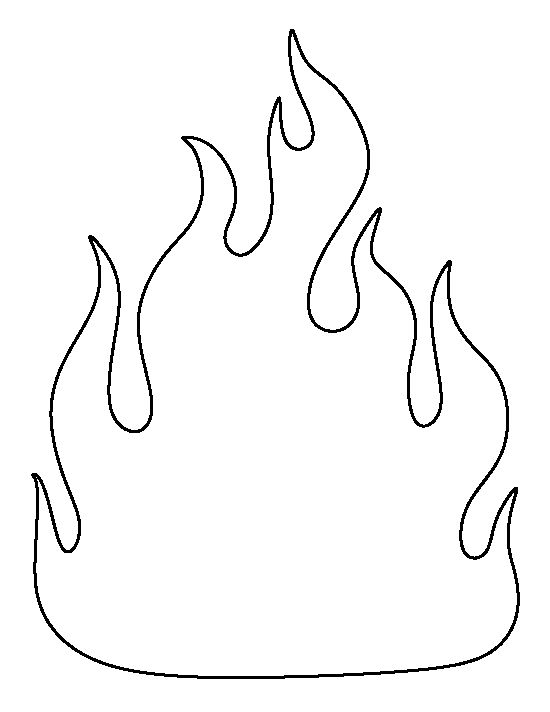 550x712 Want To Learn How To Draw A Flame Follow Our Simple Step By Step