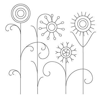 Simple floral designs for drawing at getdrawings free for 350x333 drawn floral simple thecheapjerseys Choice Image