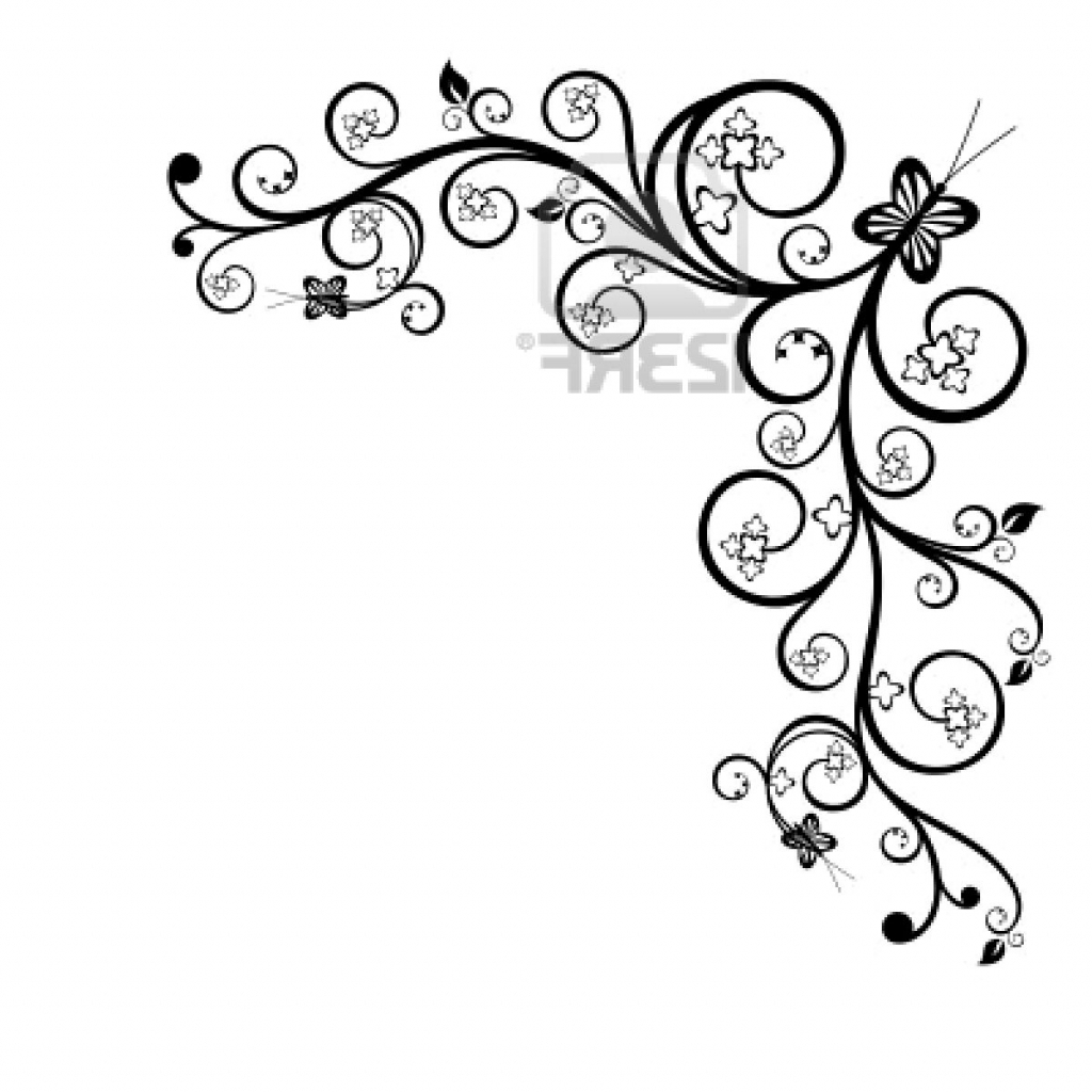 Simple Floral Designs For Drawing At Getdrawings Free For