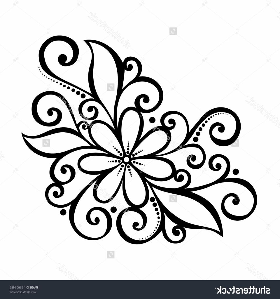 Simple Flower Pattern Drawing At GetDrawings