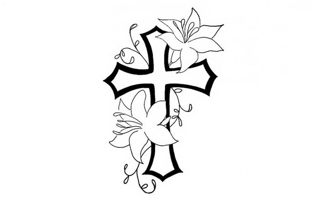 Simple Flower Pattern Drawing At GetDrawings.com