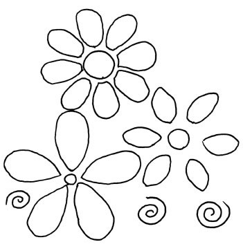 Flower Pattern Easy To Draw Flowers Healthy