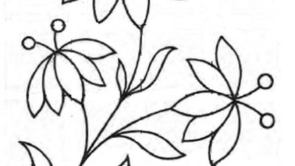 Simple Flower Patterns Drawing At GetDrawings.com
