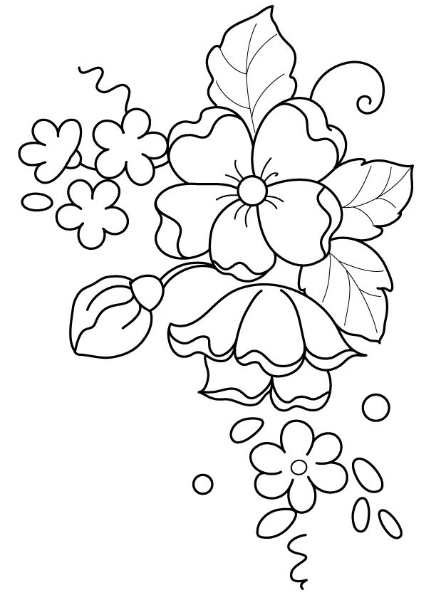 626x836 Possible Pattern For Brush Embroidery Patrones Plantillas