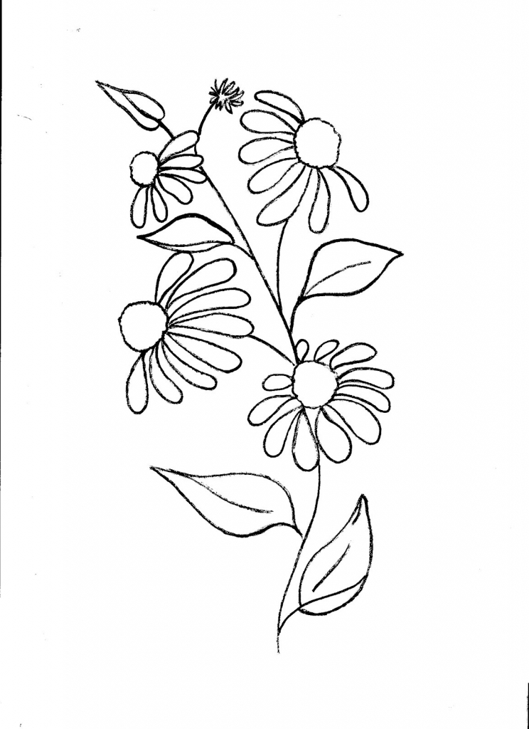 Simple flower patterns drawing at getdrawings free for 744x1024 simple floral designs for drawing simple floral design patterns q thecheapjerseys Choice Image