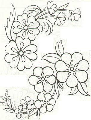 Simple Flower Patterns Drawing At Getdrawings Com Free For