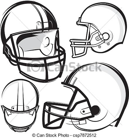 441x470 Football Helmet Drawing Front View Clipart Panda