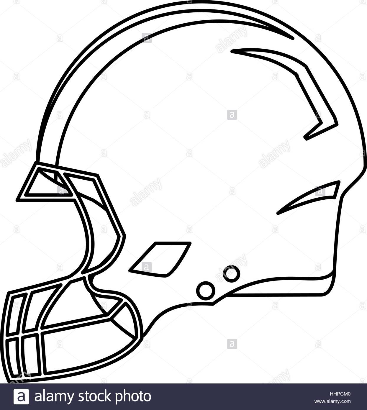 1244x1390 American Football Helmet Protection Outline Hhpcm0