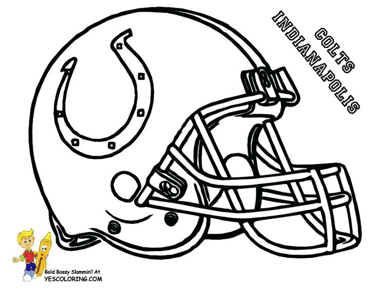 736x568 Nfl Football Pictures To Color Football Coloring Pages Online