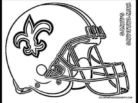 480x360 Coloringbuddymike Nfl Football Helmet Coloring