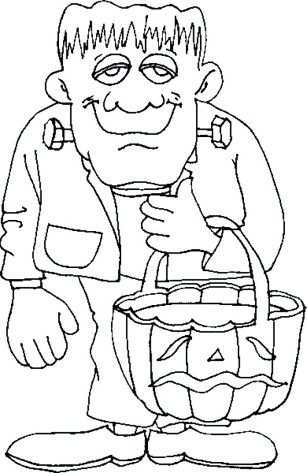 600x924 Frankenstein Pictures To Color Back To The Coloring Pages Index