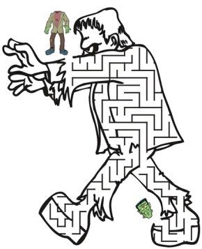 290x357 Maze Easter Egg Maze, Letter T Maze, Snowman Maze, Maze.