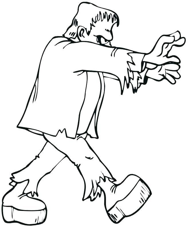 Simple Frankenstein Drawing at GetDrawings   Free download