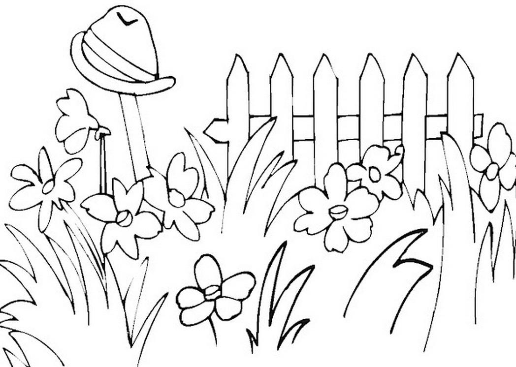1048x746 Pretty Simple Garden Clipart, Free Simple Garden Clipart