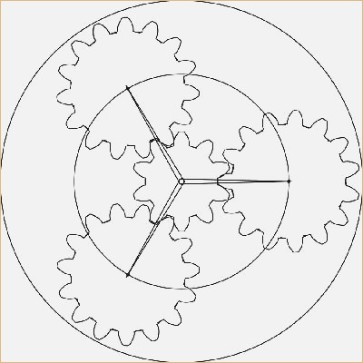 how to draw spur gear