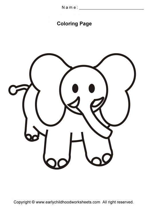 520x730 Index Of Coloring Pagessimpleanimals
