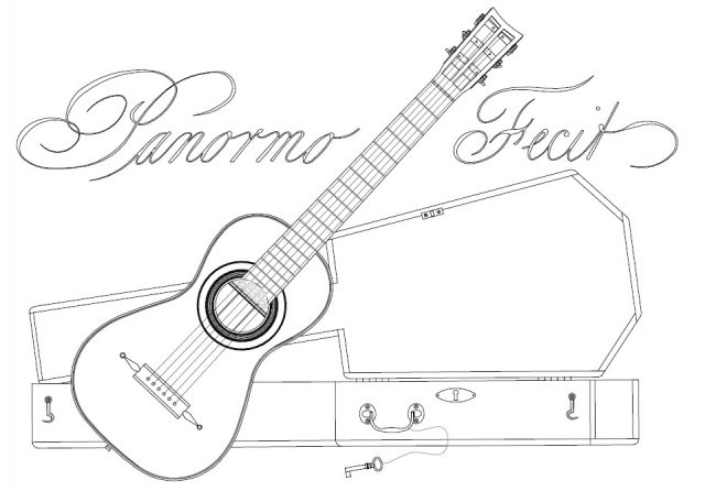640x446 New Guitar Plans Panormo 1825 The Dutch Luthier