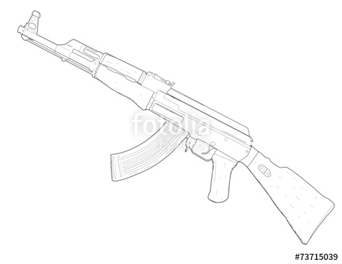500x386 Rifle Ak 47